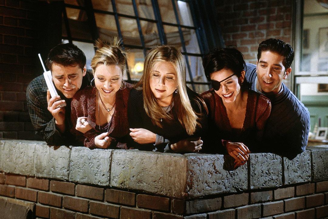 Finalmente descobriram a identidade do peladão de Friends
