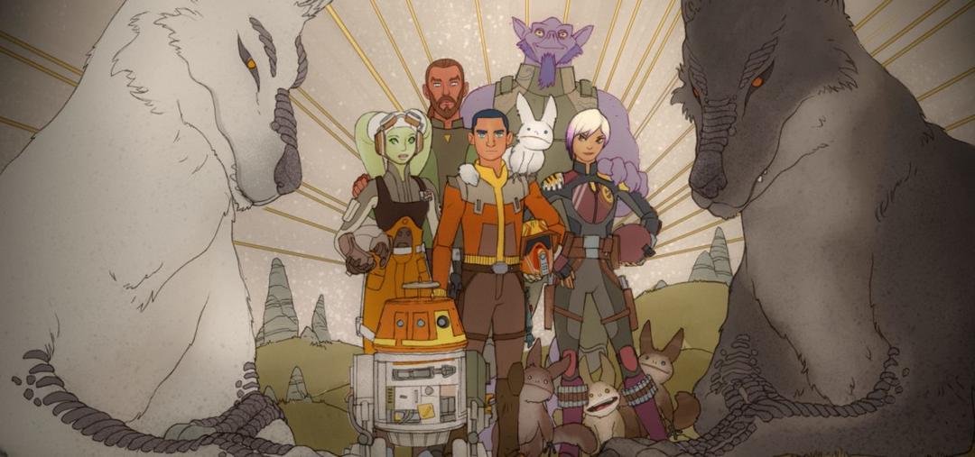 O final de Star Wars Rebels é felizmente um até logo