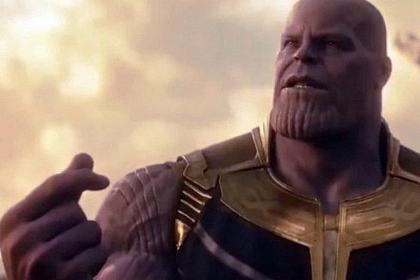 Esquenta para Vingadores 4: Estalar de dedos.