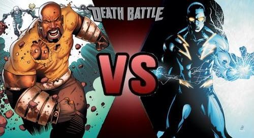 Luke Cage e Raio Negro!