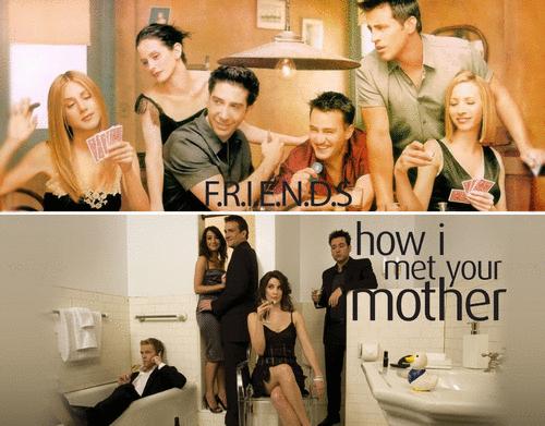 Friends x How I Met Your Mother